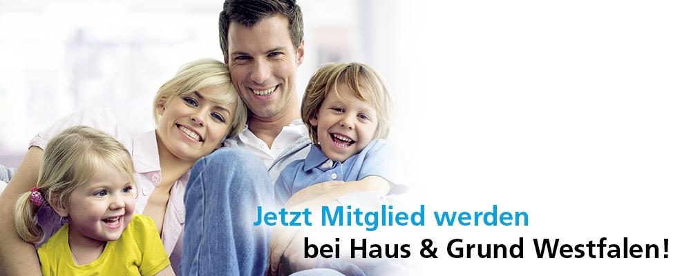 Online Mietvertrag Haus Grund Westfalen